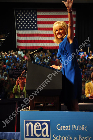 Joe and Dr Jill Biden