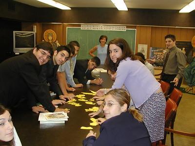 Church School Senior Class - September 28, 2003