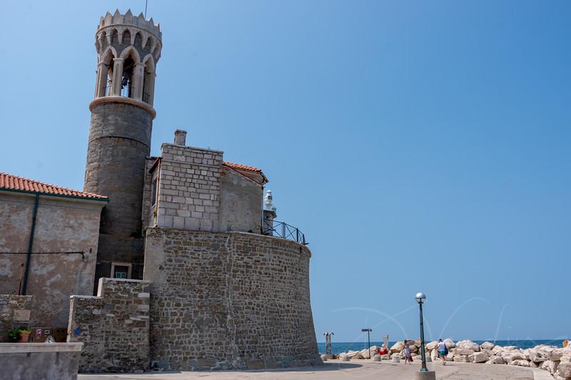 Piranski Svetilnik lighthouse
