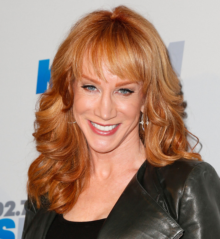 . Comedienne Kathy Griffin attends KIIS FM\'s 2012 Jingle Ball at Nokia Theatre L.A. Live on December 3, 2012 in Los Angeles, California.  (Photo by Imeh Akpanudosen/Getty Images)