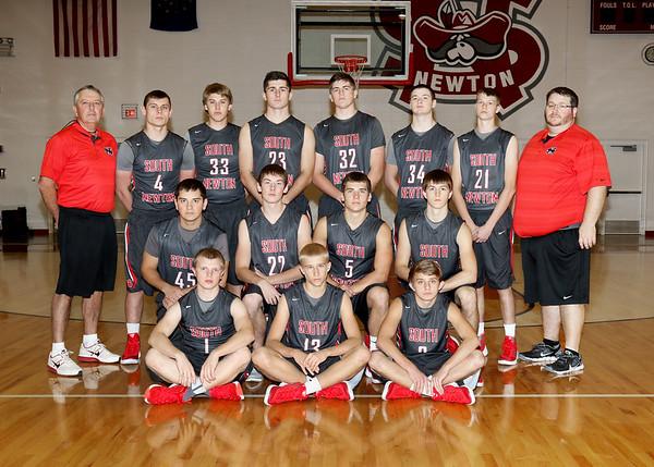 SNHS Boys Basketball Team 2015