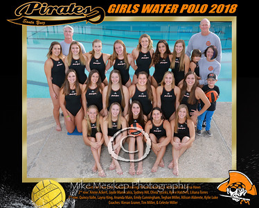 Lady Pirate Water Polo