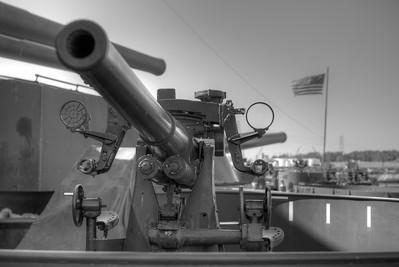 Battleship U.S.S. Texas and Galveston