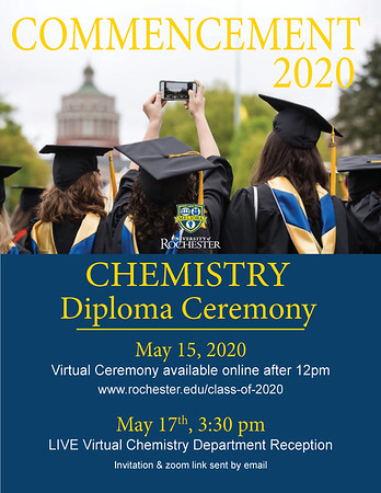 2020 Department of Chemistry Commencement