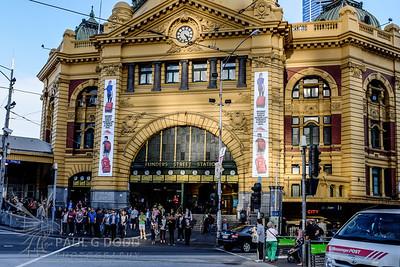 Flinders Street Station, Melbourne, Aug 2013