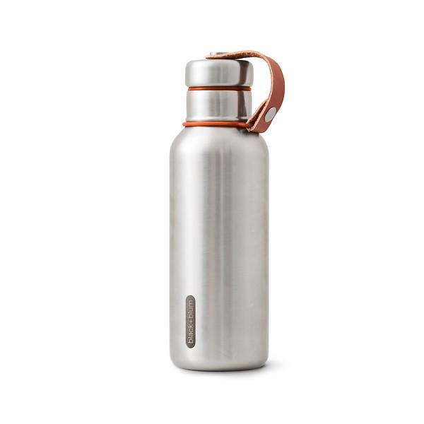 Insulated Water Bottle orange Black Blum