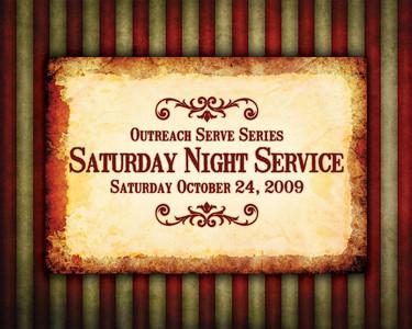ORW: Sat Night 10-24-09