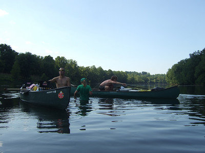 Floating the James River