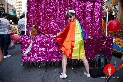 SF Pride Parade & Celebration 2018