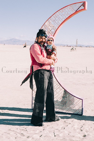 The Biswas Family at Burning Man