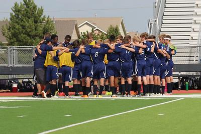 Boys Soccer vs. McPherson 2016