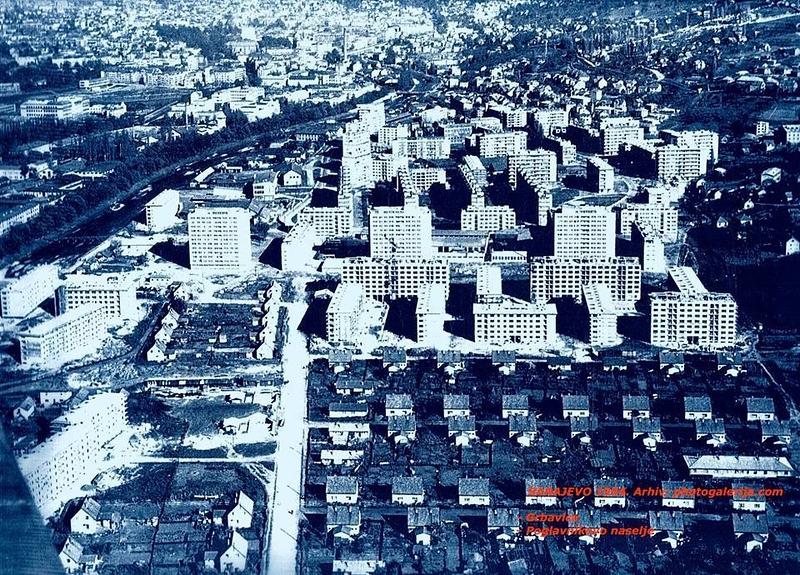 Grbavica u izgradnji-1954.jpg