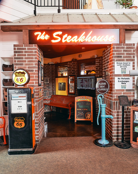 Route 66 - Lucille's Roadhouse, Hydro, Oklahoma