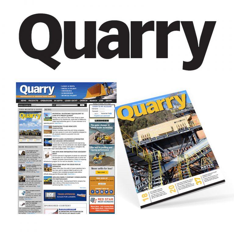 Quarry Magazine (photo credit: Prime Creative Media)