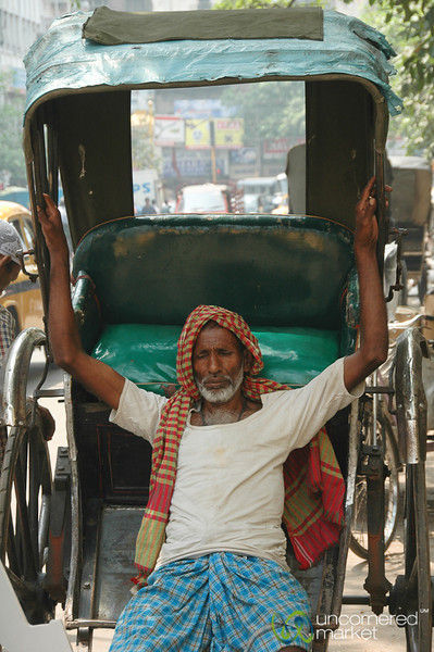 Taking a Rest - Kolkata, India