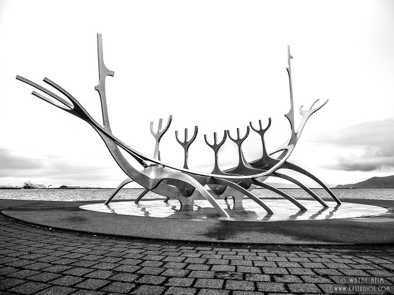 Sculpture on Shore Walk