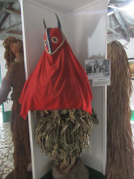017_Banjul. Kachically Crocodile Poll and Museum. Niumi Kankurang. Mandrika masquarade.JPG