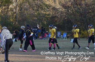 10-20-2012 Montgomery Village Sports Association Juniors vs KML Steelers, Photos by Jeffrey Vogt Photography