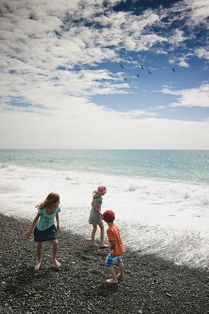 Napier Beach & Aquarium Visit