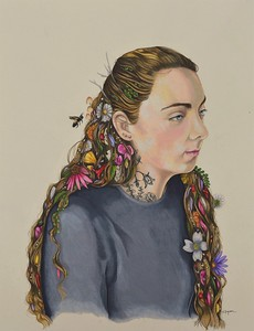 """""""Magic and Medicine"""" (colored pencil) by Kelly Ferguson"""