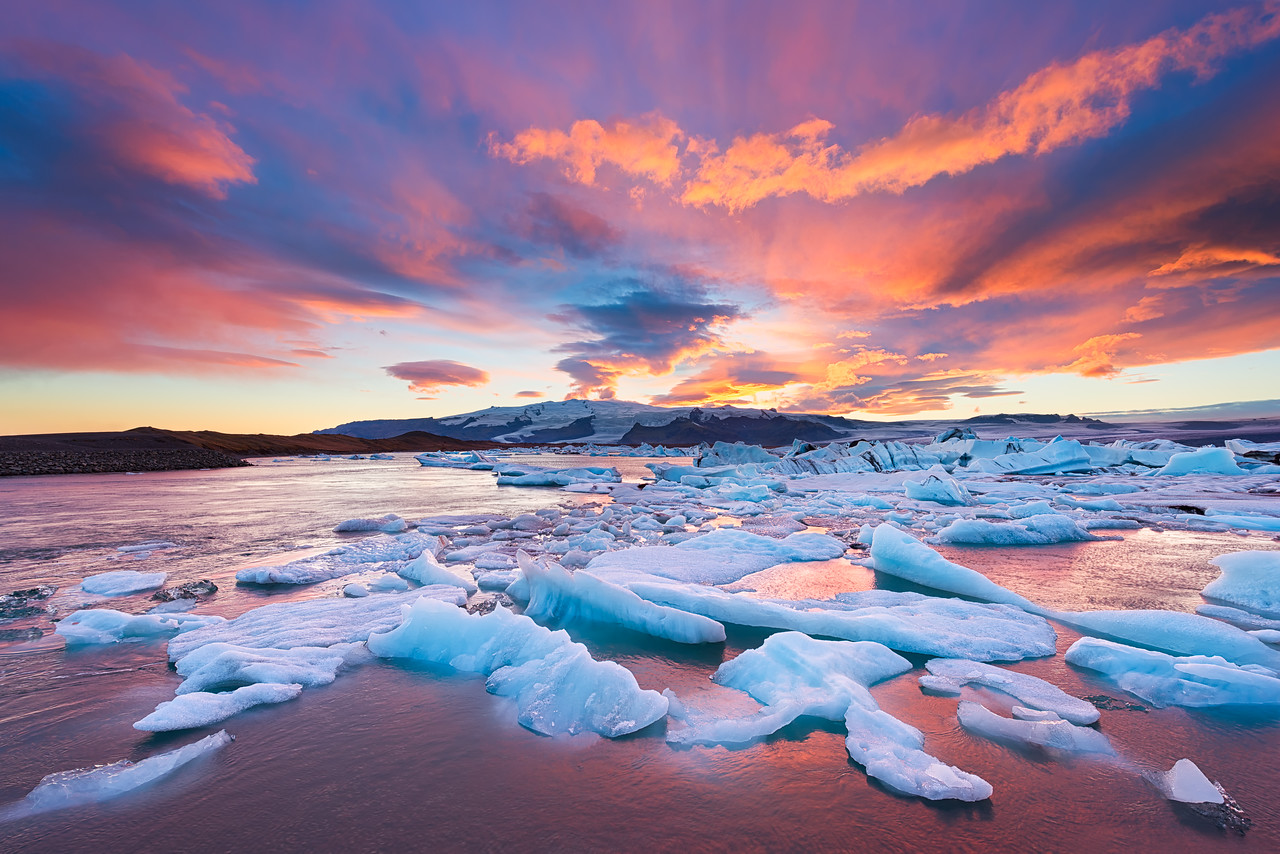 Colors of Jokulsarlon || Iceland