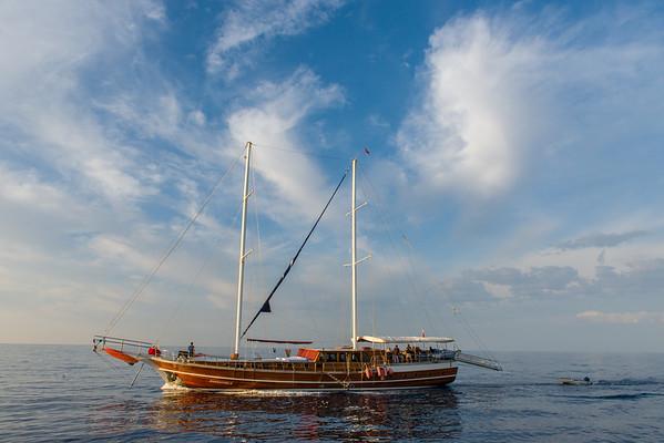 Gulet on the Aegean