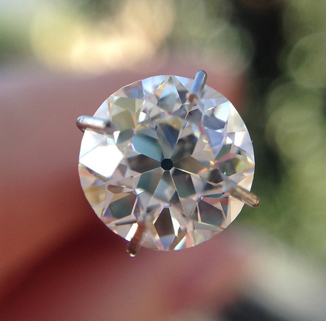 2.11ct Old European Cut Diamond, EGL J VS1
