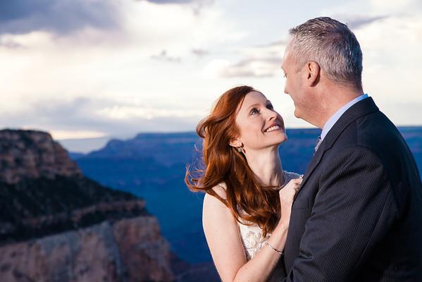 Virginia and Paul   Shoshone Point Wedding