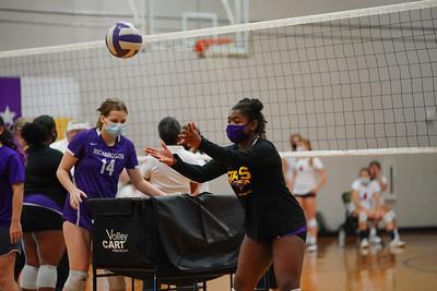 Richardson High School Volleyball Vs Pearce Freshman A