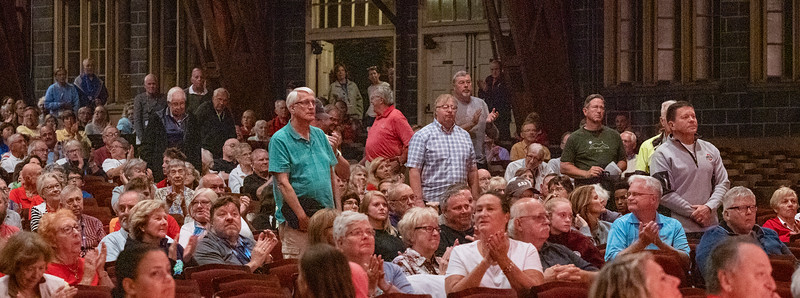 Veterans in the audience