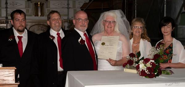Doug and Kathy Wedding