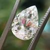 2.01ct Antique Pear Shape Diamond GIA G VS1 25