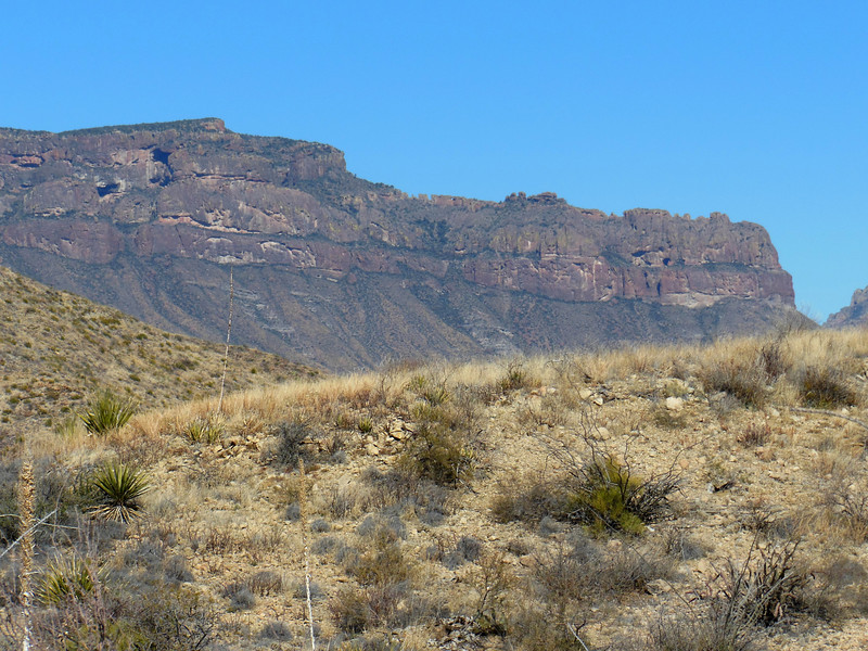 Our first close views of the south rim.