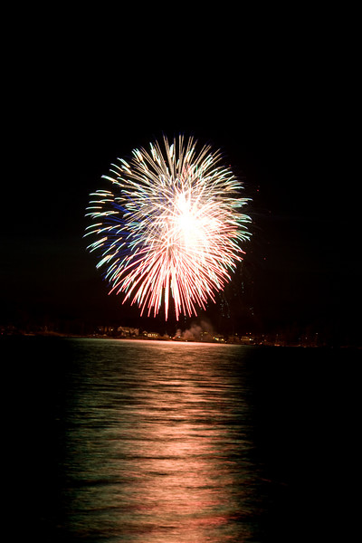 Eastsound Fireworks 2007
