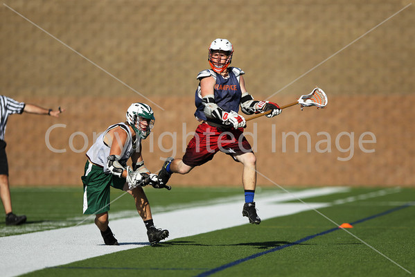 LACROSSE Millard West vs Lincoln Championship game 7/28/2013