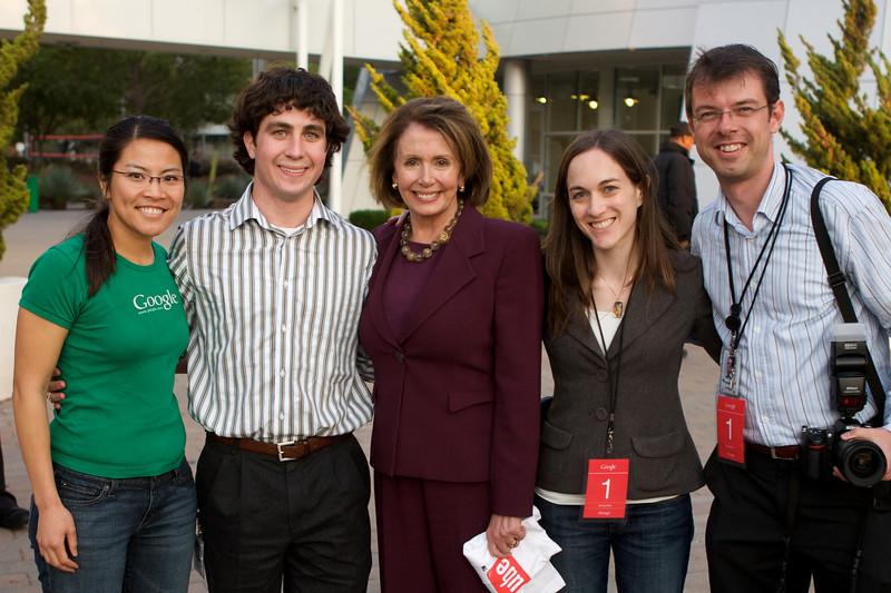 Speaker of the House, Nancy Pelosi