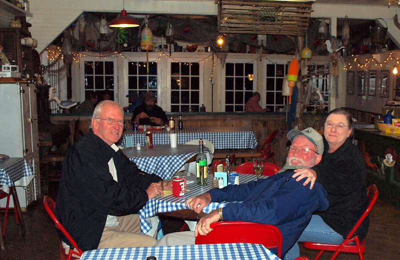 A fun time at the Harbor Gawker in Vinalhaven
