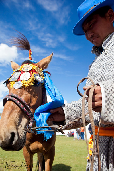 Annual Naadam Festival in Bulgam. Mongolia.