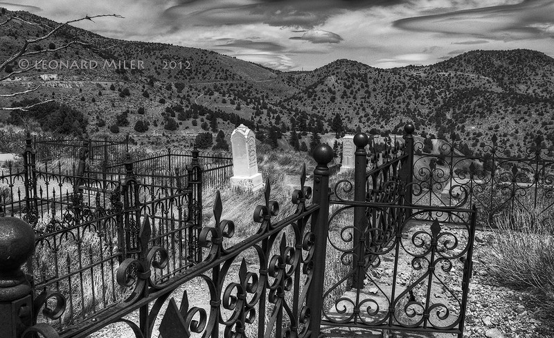 Cemetery - Virginia City, Nevada - 2012