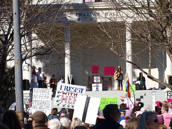 Wilmington's Women's March 2018