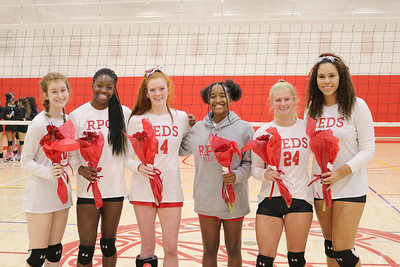 Volleyball Senior Day 19-20