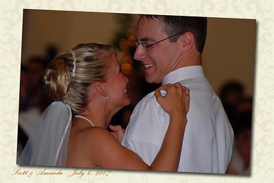 Amanda and Scott's Wedding 7/6/07