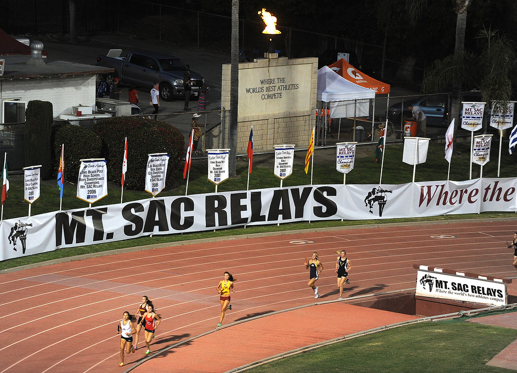 . The Mt. SAC Relays in Hilmer Lodge Stadium on the campus of Mt. San Antonio College on Saturday, April 20, 2012 in Walnut, Calif.    (Keith Birmingham/Pasadena Star-News)