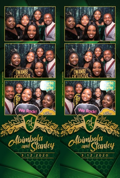 Abimbola and Stanley's Wedding