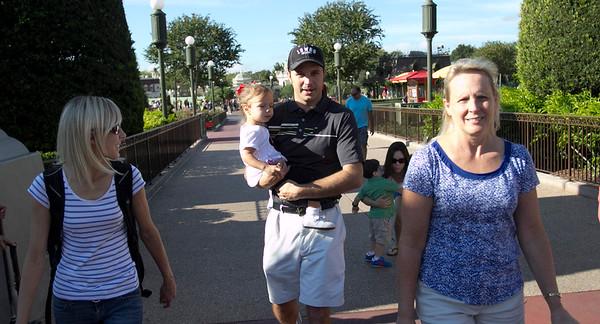 Alyssa's 1st trip to Disney 11-7-14