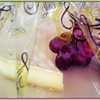 April 1, 2014  Grapes with Cheese  Welcome Basket Fairmont Jasper Park Lodge  (91/365)  Daily theme: Something Purple  #fmsphotoaday