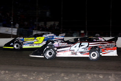 The Clyde Ellis Lucas Oil MLRA Late Model Showdown and Modified Shootout - 10/19/12