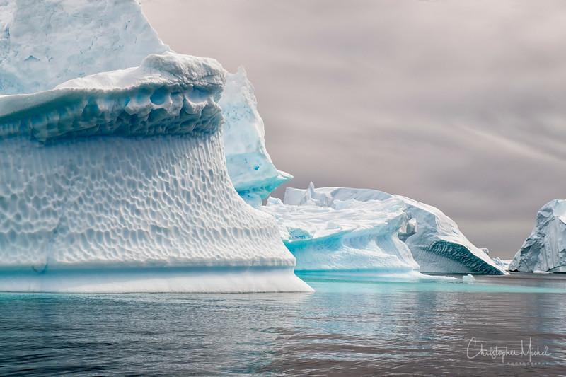 The Iceberg Graveyard off Pleneau Island.