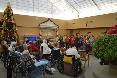 Mr. Breilers Class - 12/18/2015 Christmas @ Nursing Homes KK