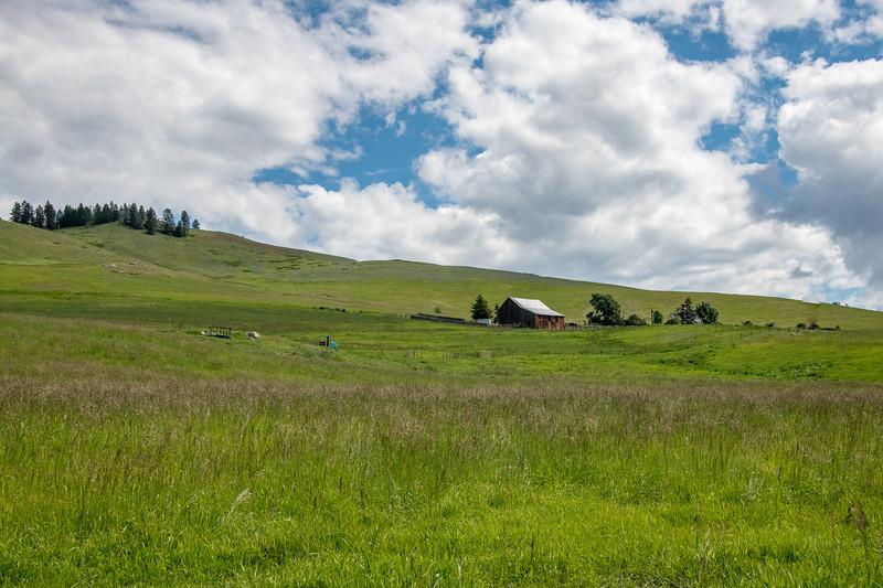 Around the Okanagan Valley at higher elevation